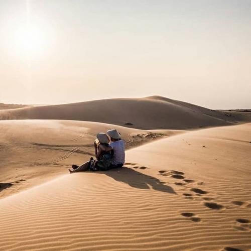 Đồi cát trắng ở Mũi Né
